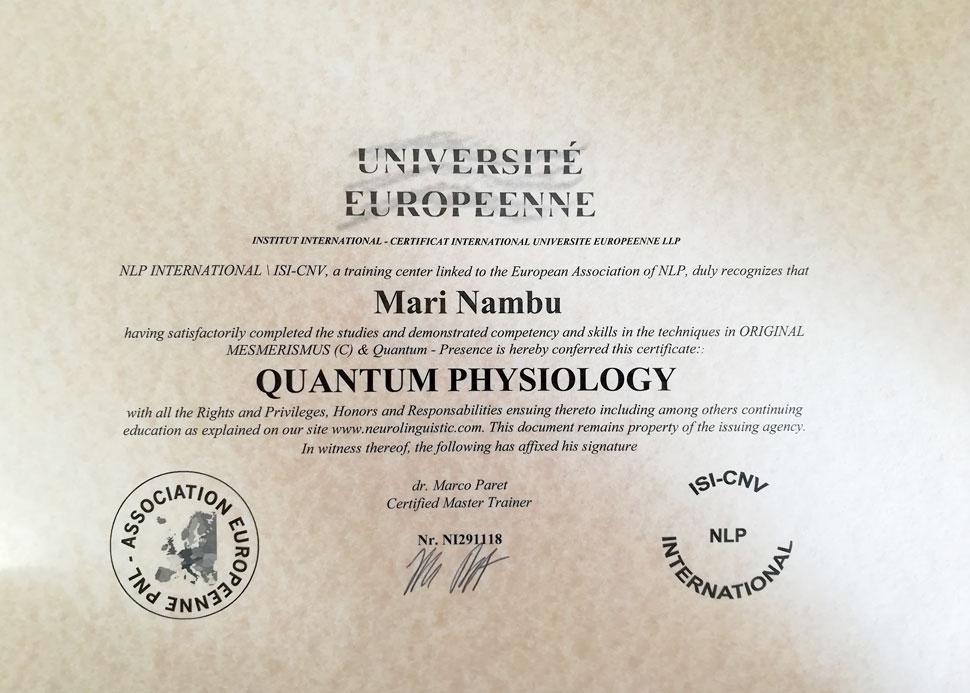 Certification-Magnétisme-Hypnose